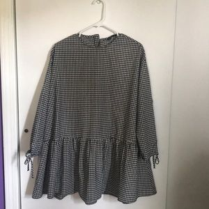 Gingham Zara Dress